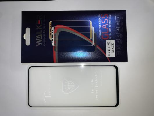 Стекло WALKER для Realme 6 Pro,