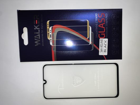 Стекло WALKER для Samsung A01/A40,