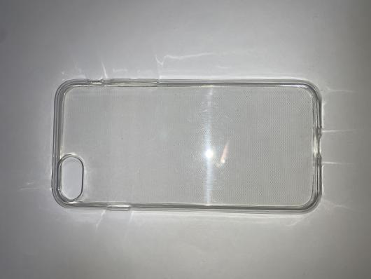 Накладка силиконовая для Apple iPhone SE (2020), прозрачная