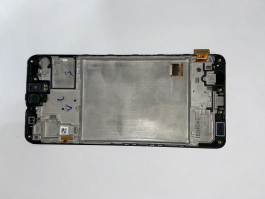 Дисплей для Samsung Galaxy M31s SM-M317 в сборе (черный) 100% оригинал