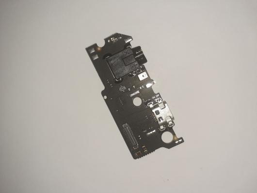 Шлейф/FLC Meizu M6s на системный разъём и микрофон (нижняя плата)