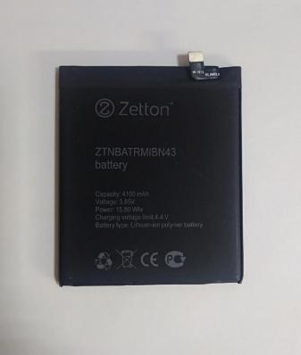 Аккумуляторная батарея Zetton для Xiaomi Redmi Note 4X 4100 mAh (ZTNBATRMIBN43)