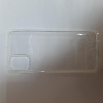 Силиконовый чехол для Samsung Galaxy M51, M515F (2020) ультратонкий прозрачный