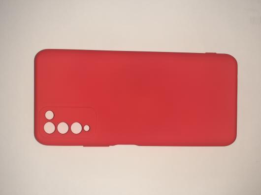 Чехол для Honor 10X lite Silicone Cover Slim, красный