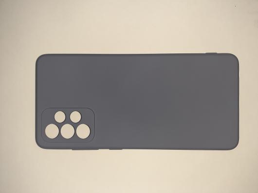 Чехол для Samsung Galaxy A72, A725F Silicone Cover Slim, фиолетовый