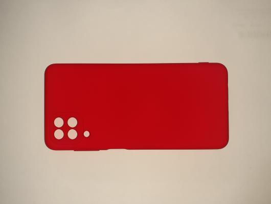 Чехол для Samsung Galaxy A12, A125F Silicone Cover Slim, красный