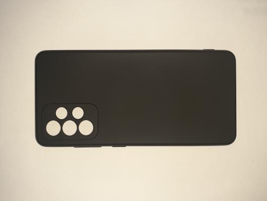 Чехол для Samsung Galaxy A52, A525F Silicone Cover Slim, черный
