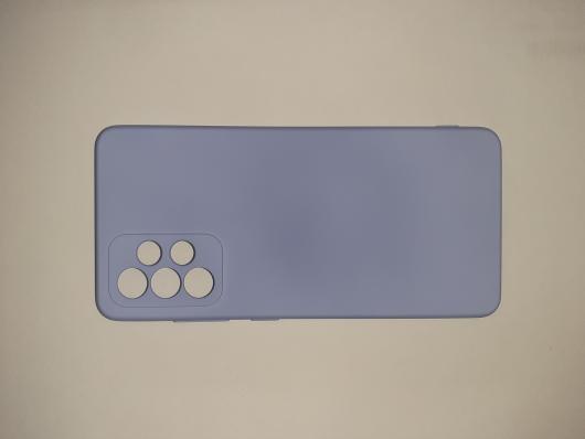 Чехол для Samsung Galaxy A52, A525F Silicone Cover Slim, голубой