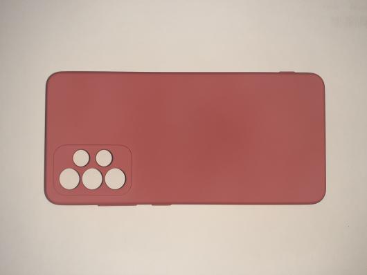 Чехол для Samsung Galaxy A52, A525F Silicone Cover Slim, малиновый