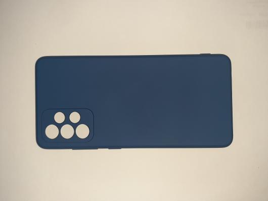 Чехол для Samsung Galaxy A72, A725F Silicone Cover Slim, синий