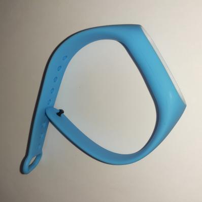 Браслет для фитнес трекера Mi 2 Band (голубой/белый)