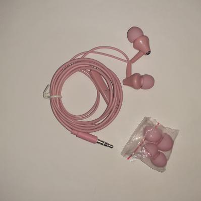 Гарнитура BOROFONE BM49 Player 3.5 мм, вставная, 1.2м (розовый)