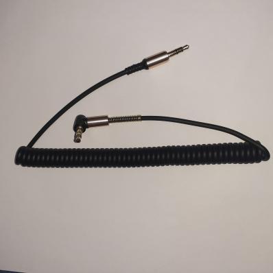 Аудиокабель Earldom ET-AUX23 3,5 mm M-M(L) AUX Cable 1,8 Meter (черный)