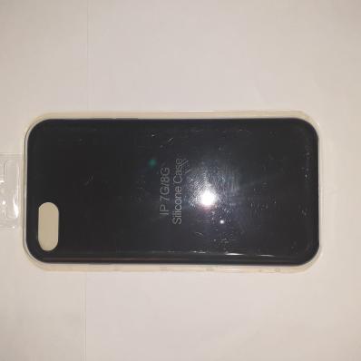 Накладка SILICONE COVER Soft-touch для Apple iPhone 7/8, черная