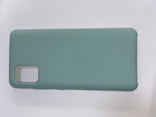 Чехол Silicone Cover для Samsung Galaxy A51, A515F (2019) синий океан