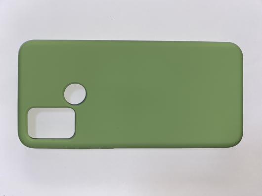Чехол Silicone Cover для Honor 9A (2020) мятно-зеленый