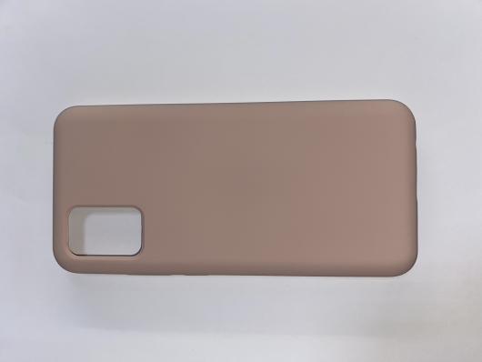 Чехол Silicone Cover для Samsung Galaxy A02S, A025F, розовый