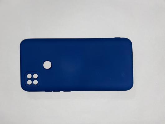 Чехол для Xiaomi Redmi 9С Silicone Cover Slim, синий