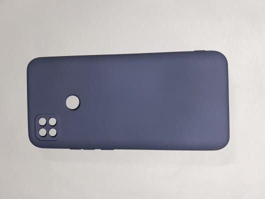Чехол для Xiaomi Redmi 9С Silicone Cover Slim, фиолетовый