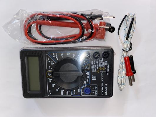Мультиметр OT-INM14/МD838 (прозвонка, hFE, термопара)