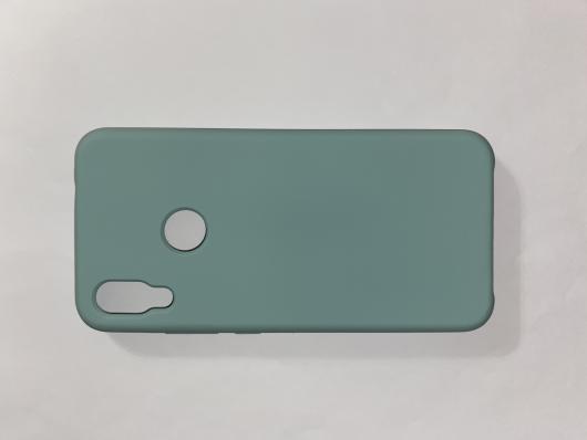 Чехол Silicone Cover для Xiaomi Redmi Note 7 (2019) синий океан