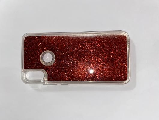 Чехол-переливашка Liquid для Xiaomi Redmi Note 7 прозрачный силикон #08
