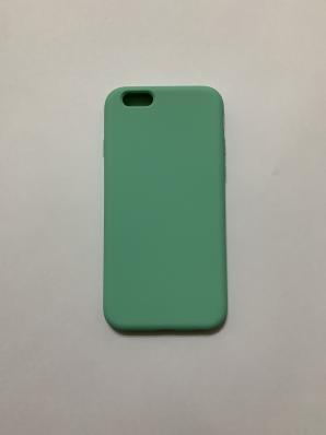 Силиконовый чехол Full Case для iPhone 6/ 6S, мятный