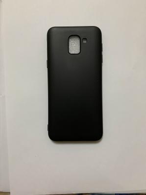 Чехол Color Matt Lite для Samsung Galaxy J6, J600F (2018) матовый, черный