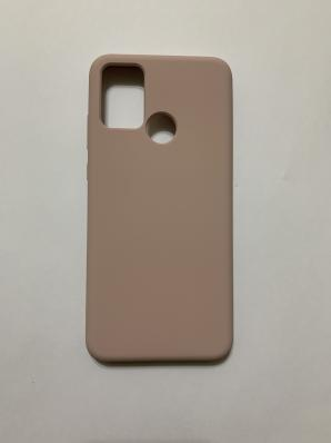 Чехол Silicone Cover для Honor 9A (2020) розовый песок