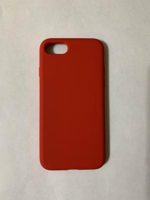 Силиконовый чехол Full Case для iPhone SE (2020)/ 8/ 7, красный