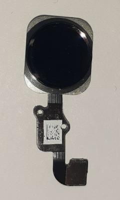 Кнопка HOME для iPhone 6/ 6 Plus на шлейфе, черный