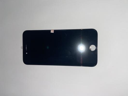 LCD дисплей для AppleiPhone 8 с рамкой крепления, (яркая подсветка) черный (AAA) 1-я категория