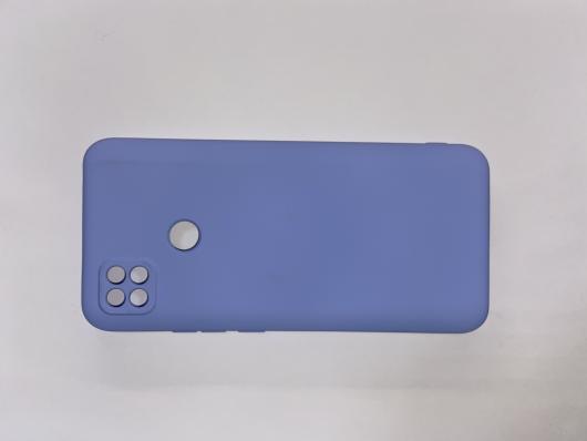 Чехол для Xiaomi Redmi 9C Silicone Cover Slim, голубой