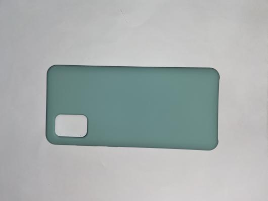 Чехол Silicone Cover для Samsung Galaxy A31, A315F (2020) синий океан