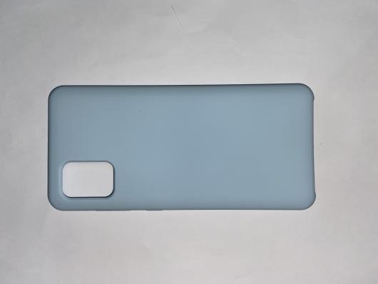 Чехол Silicone Cover для Samsung Galaxy A31, A315F (2020) голубой