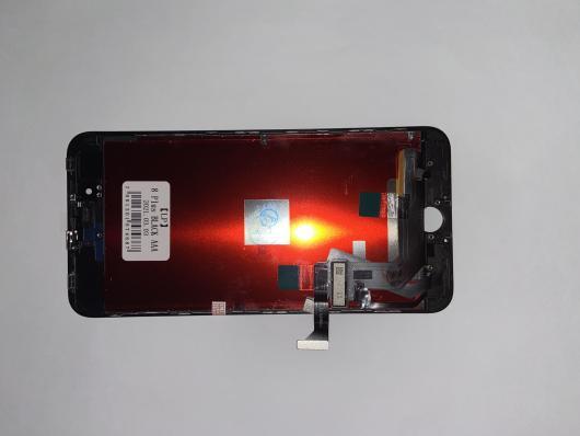 LCD дисплей для Apple iPhone 8 Plus с тачскрином(яркая подсветка), 1-я категория, класс AAA (черный)