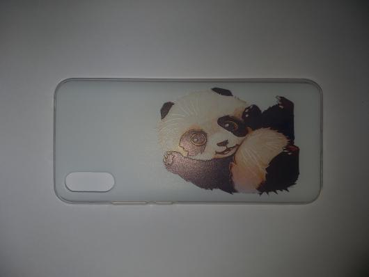 Накладка Phopart для Xiaomi Redmi 9A, панда №6430