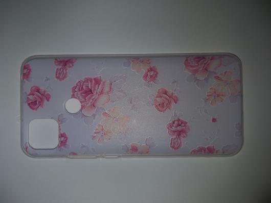 Накладка Phopart для Xiaomi Redmi 9C, цветы №4894