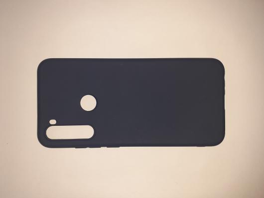Накладка Silicone case NEW для Xiaomi Redmi Note  8T, синяя