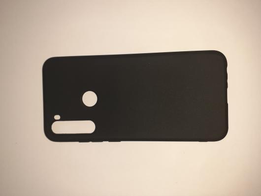 Накладка Silicone case NEW для Xiaomi Redmi Note  8T, черная