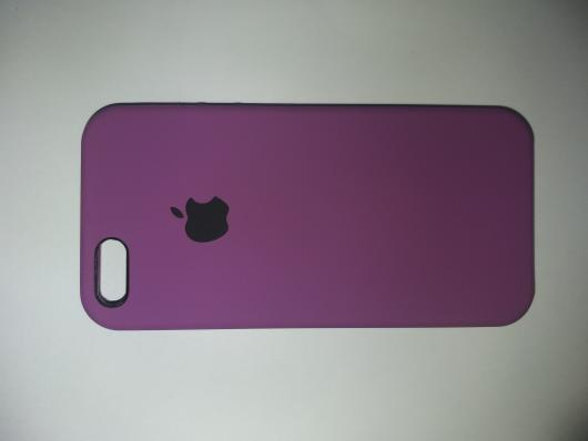 Чехол Silicone Case для iPhone SE/ 5/ 5S C-класс, пурпурный