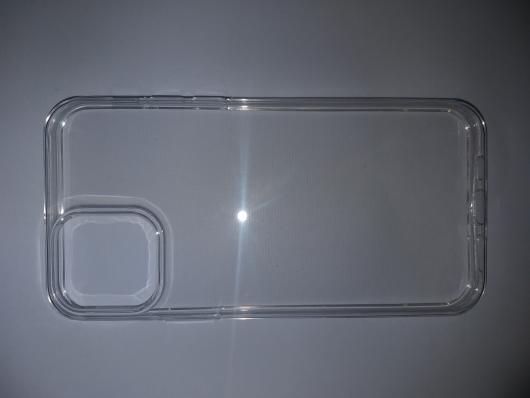 Чехол ультратонкий для iPhone 12/ iPhone 12 Pro, силиконовый прозрачный