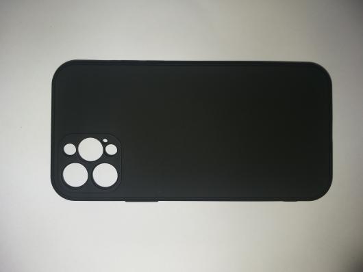 Чехол для iPhone 12 Pro Silicone Cover Slim, черный