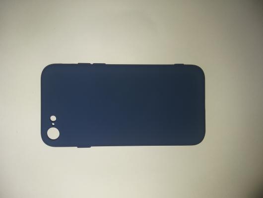 Чехол для iPhone SE 2020/ 8/ 7 Silicone Cover Slim, синий