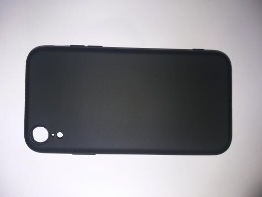 Чехол для iPhone XR Silicone Cover Slim, черный