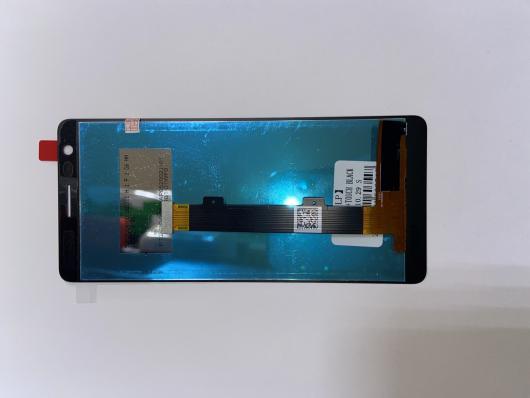 LCD дисплей для Nokia 3.1 в сборе с тачскрином (черный)
