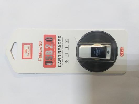 Картридер Earldom ET-OT25 Micro SD Card Reader (черный)