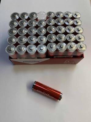 Батарейка алкалиновая Smartbuy LR6 AA 1шт