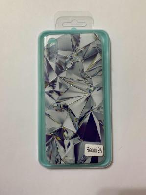 Накладка Phopart для Xiaomi Redmi 9A со стразами, алмаз №6763