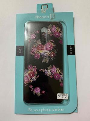 Накладка Phopart для Xiaomi Redmi 5 Plus, цветы №4544